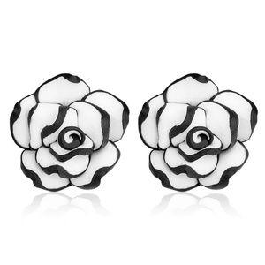 flower studs petal earrings